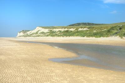 Wissant Beach Near Cap Blanc-Nez, Cote D'Opale, Region Nord-Pas De Calais, France, Europe-Gabrielle and Michel Therin-Weise-Photographic Print