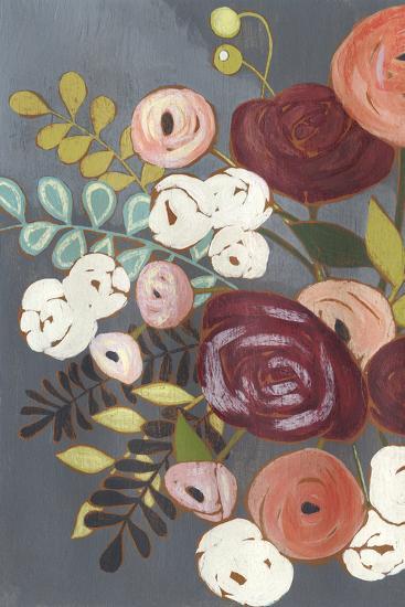 Wistful Bouquet II-Grace Popp-Art Print