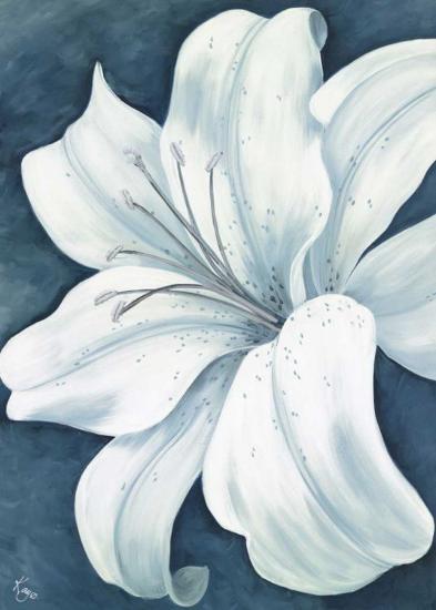 Wistful Lily I-Kaye Lake-Art Print