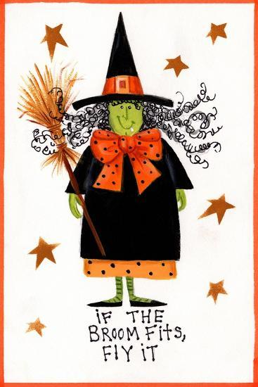 Witch 2-Beverly Johnston-Giclee Print