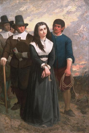 Witch Hill (The Salem Martyr) 1869-Thomas Satterwhite Noble-Giclee Print