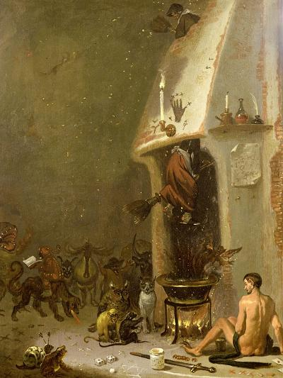Witch's Tavern-Cornelis Saftleven-Giclee Print
