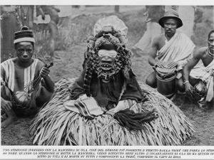 Witchdoctor of Southern Africa Encountered by the American Traveller William Seabrook