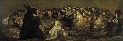 Witches' Sabbath or the Great He-Goat-Francisco de Goya-Giclee Print