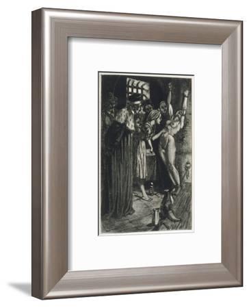 Witchmarks Found-Martin Van Maele-Framed Giclee Print