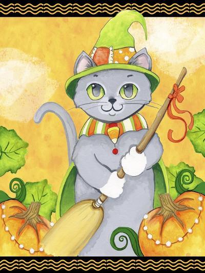 Witchy Cat-Valarie Wade-Premium Giclee Print