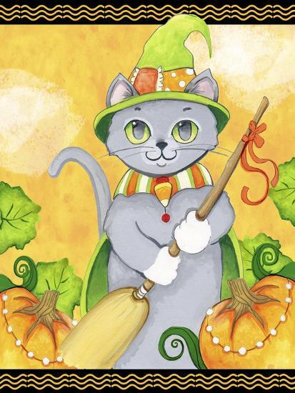 Witchy Cat-Valarie Wade-Giclee Print