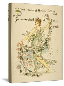 With Blazoned Pennons from Each Spear/Iris and the Flag Appear, Written and Drawn by Walter Crane