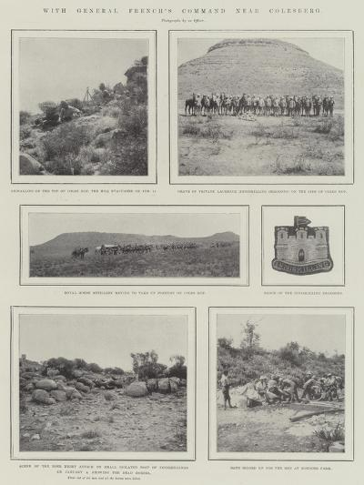 With General French's Command Near Colesberg--Giclee Print