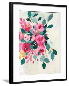 With Love Floral-Sharon Montgomery-Framed Art Print