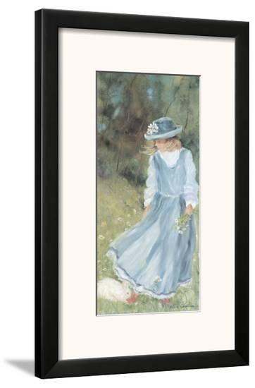 With My Rabbit-H?l?ne L?veill?e-Framed Art Print