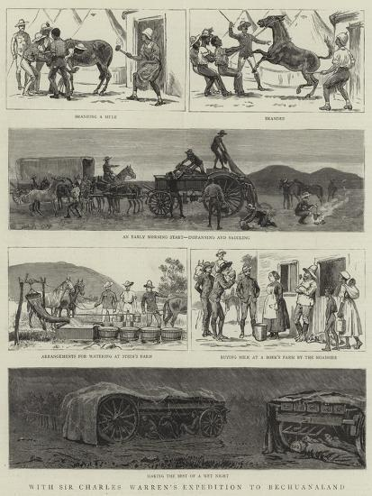 With Sir Charles Warren's Expedition to Bechuanaland--Giclee Print