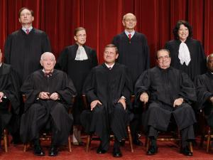 With the Addition of Justice Sonia Sotomayor, The High Court Sits for a New Group Photograph