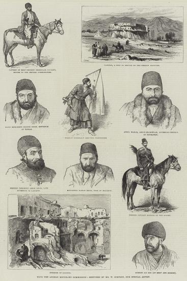 With the Afghan Boundary Commission-William 'Crimea' Simpson-Giclee Print