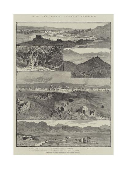 With the Afghan Boundary Commission-William Henry James Boot-Giclee Print