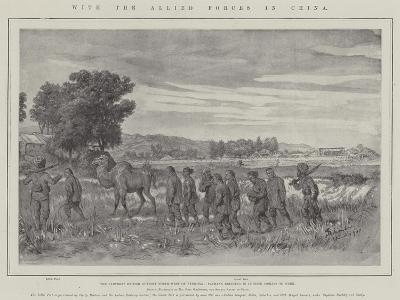 With the Allied Forces in China-Johann Nepomuk Schonberg-Giclee Print