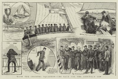With the Channel Squadron, the Race for the Admiral's Cup--Giclee Print