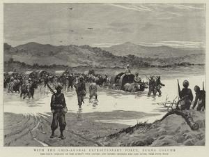 With the Chin-Lushai Expeditionary Force, Burma Column