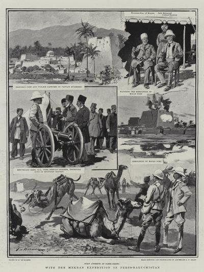 With the Mekran Expedition in Perso-Baluchistan-Frederic De Haenen-Giclee Print