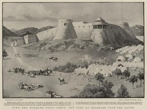 With the Mohmand Field Force, the Fort of Shabkadr from the South