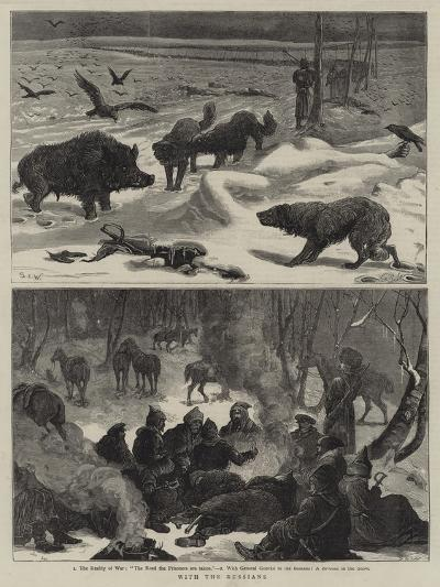 With the Russians-Samuel Edmund Waller-Giclee Print