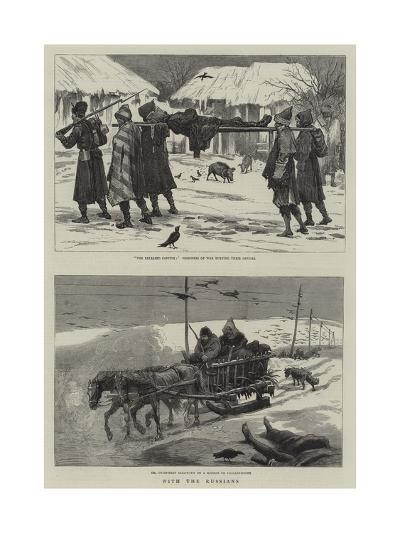 With the Russians--Giclee Print