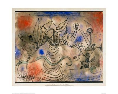 With the Snake, 1924-Paul Klee-Giclee Print