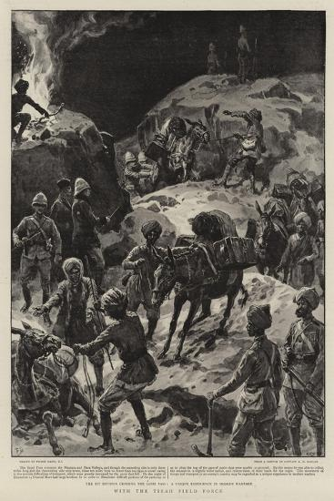 With the Tirah Field Force-Frank Dadd-Giclee Print