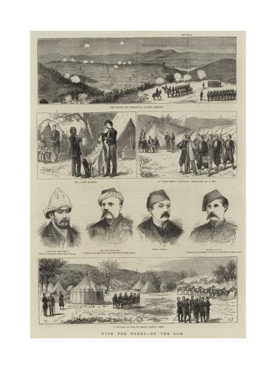With the Turks, on the Lom--Giclee Print