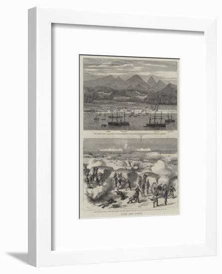 With the Turks-Godefroy Durand-Framed Giclee Print