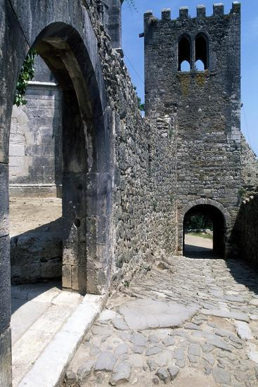 Within the Walls of Leiria Castle, Portugal, 12th-14th Century--Giclee Print