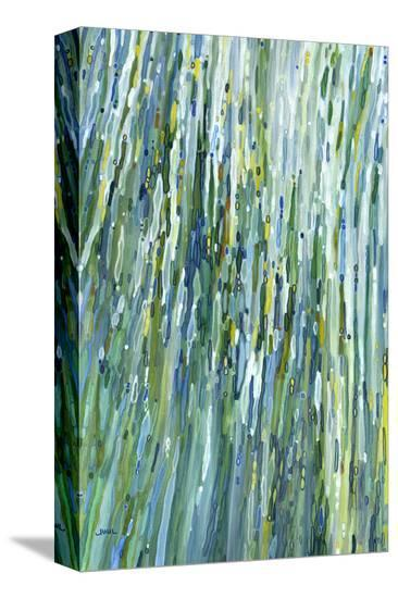 Within the Waterfall-Margaret Juul-Stretched Canvas Print