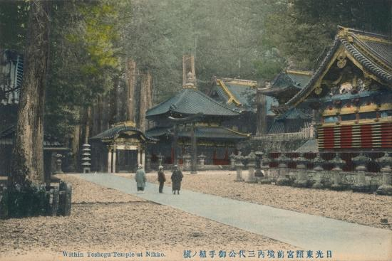 'Within Toshogu Temple at Nikko', c1900-Unknown-Giclee Print