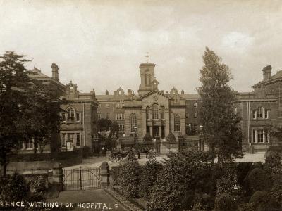 Withington Hospital, Manchester-Peter Higginbotham-Photographic Print
