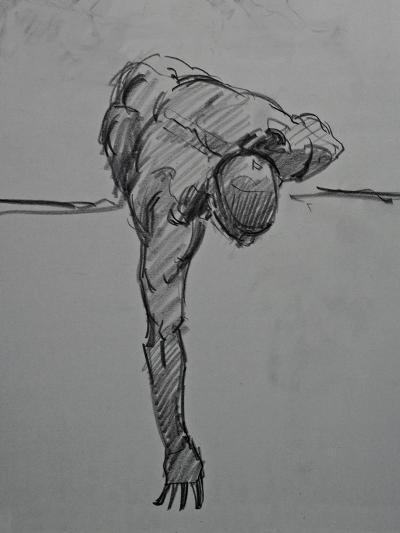 Without Ever Reaching Satisfaction-Nobu Haihara-Giclee Print