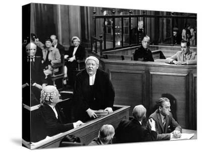 Witness For The Prosecution, John Williams, Charles Laughton, Henry Daniell, Tyrone Power, 1957