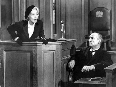 Witness For The Prosecution, Marlene Dietrich, 1957--Photo