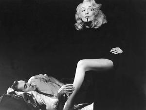 Witness For The Prosecution, Tyrone Power, Marlene Dietrich, 1957