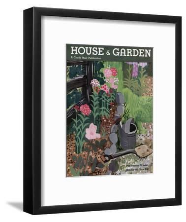 House & Garden Cover - October 1931
