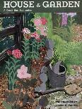 House & Garden Cover - October 1931-Witold Gordon-Premium Giclee Print