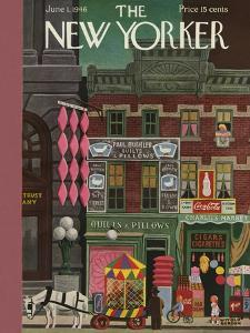 The New Yorker Cover - June 1, 1946 by Witold Gordon