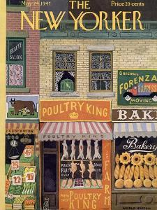 The New Yorker Cover - May 24, 1947 by Witold Gordon