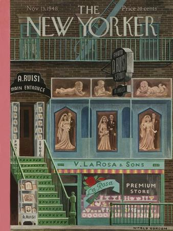 The New Yorker Cover - November 13, 1948