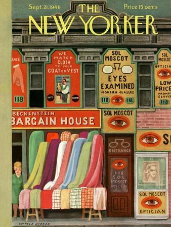 The New Yorker Cover - September 21, 1946