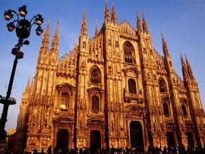 Facade of the Cathedral, Milan, Italy by Witold Skrypczak