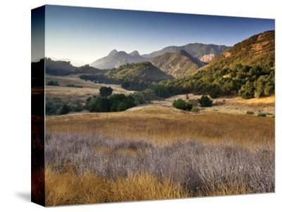 Malibu Creek State Park, from Mulholland Highway in Santa Monica Mountains Near Malibu