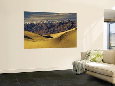 Mesquite Flat Sand Dunes with Amargosa Range in Distance