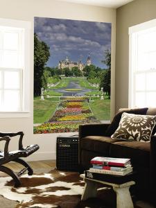 Schlossgarten with Castle in Distance by Witold Skrypczak
