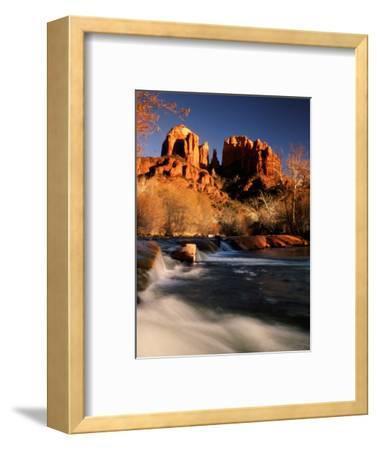 Sunset on Cathedral Rock, Oak Creek, Sedona, Arizona