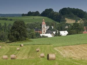Village of Kunratice Near Polish Border and Frydlant by Witold Skrypczak